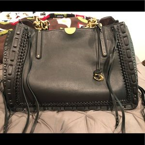 Coach Dreamer 34 with Whipstitch Detail